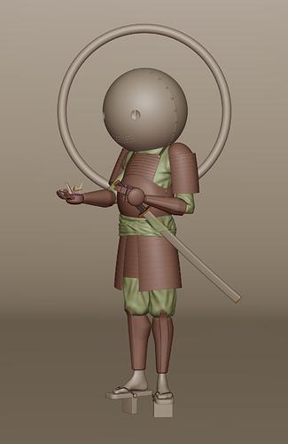 Samurai_Humberto-Rapelli_Clay