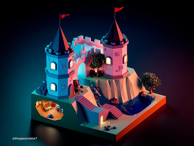 castle night — копия