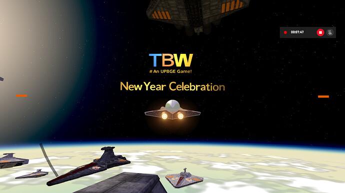 TBW - Build 0.0.1 New Year Celebration!