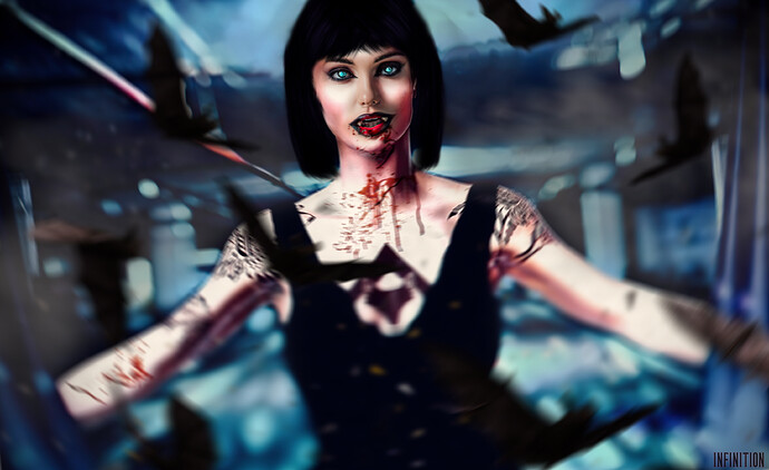 Vampire Woman_black