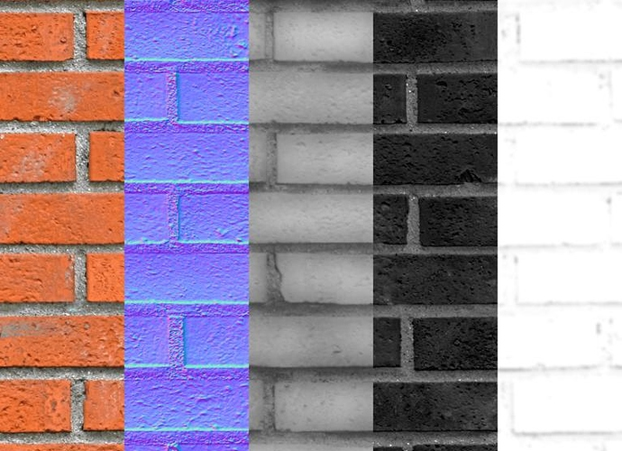 Seamless Brick Textures Free Download Finished Projects Blender Artists Community