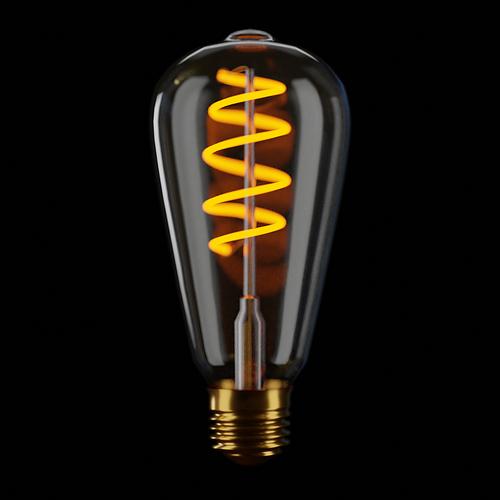 Single bulb Render 001
