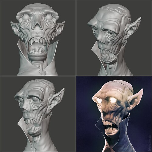metin-seven_realistic-3d-modeler-sculptor-illustrator_zombie-goblin-vampire-sculpture_views