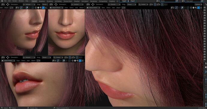 VTR hair design