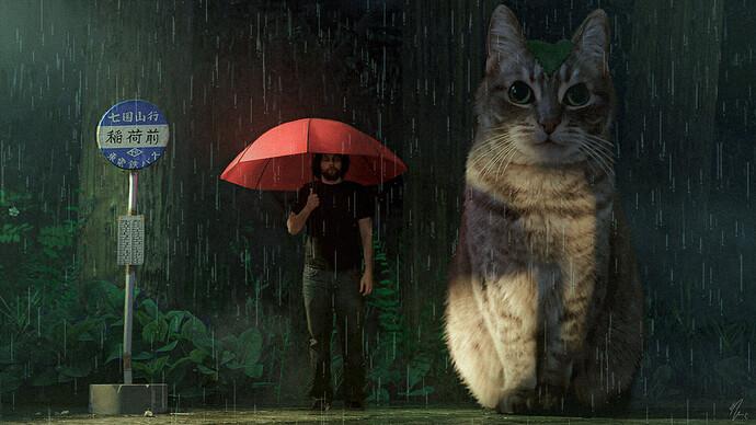 My Lil Totoro - Kairi