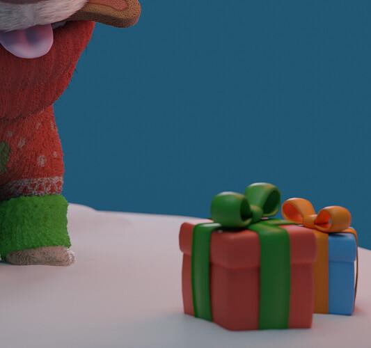 Christmas Corgi 4