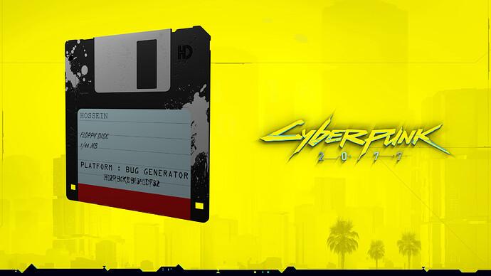 Floppy disk (CyberPunk) 02