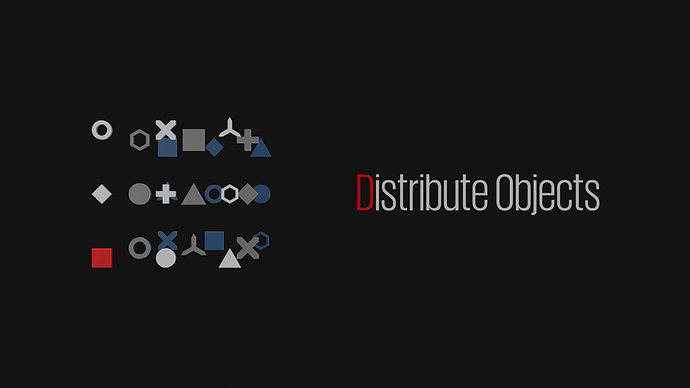 Distribute Objects_Logo