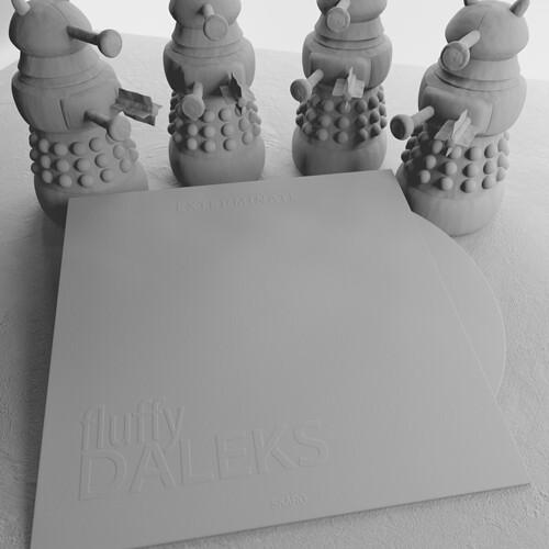 fluffyDalecks_Vinilo_3Dmodel