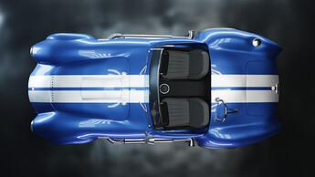 Shelby Cobra 427 Top Angle fhd