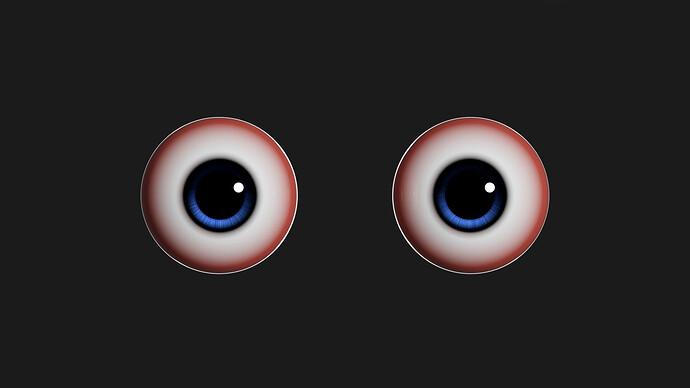 2. 캐릭터 눈 만들기