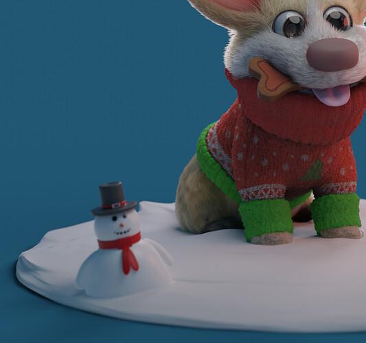 Christmas Corgi 3
