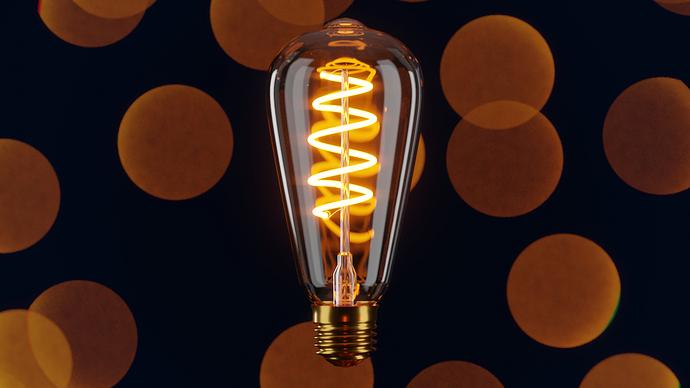 Single bulb Render 003