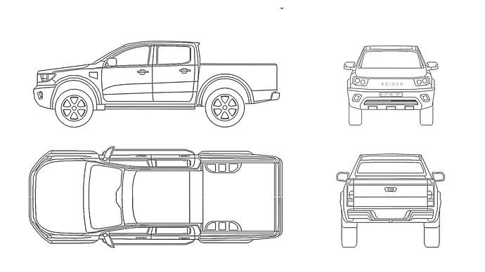 Edison E1 Blueprints