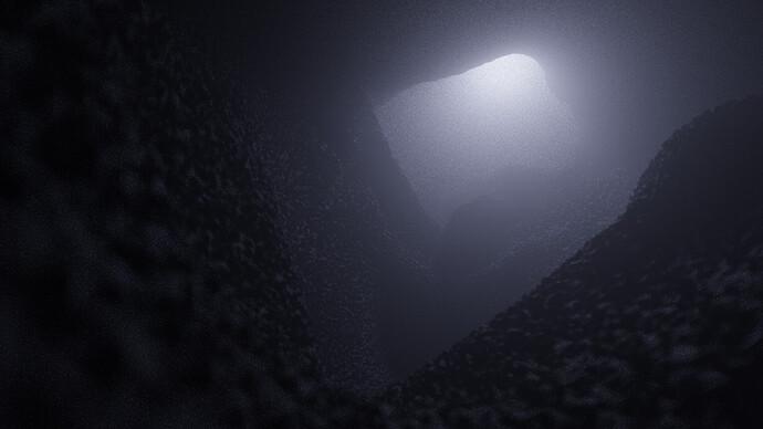 cave 180 sample no denoise