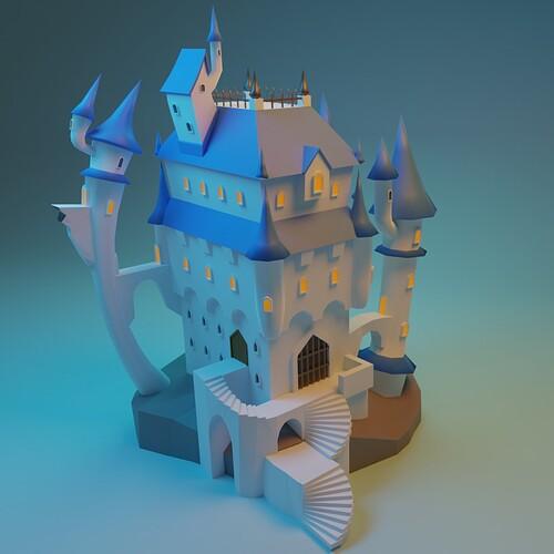 Stylized castle10