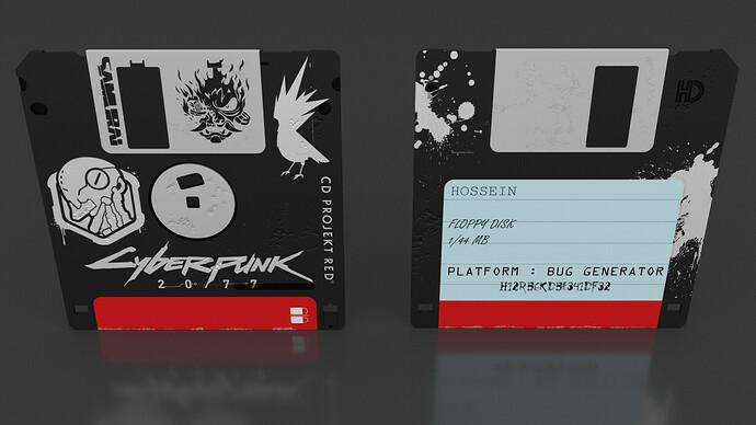Floppy disk (CyberPunk) 04
