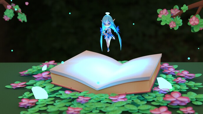 enchanted book view 2