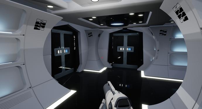 NCC-1701 Enterprise_Unreal Engine(WIP) (3)