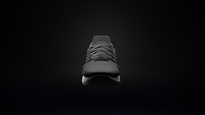 Adidas EQT ADV Black Front View