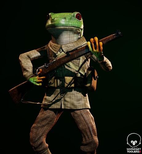 Wireframe_froggo scene_3