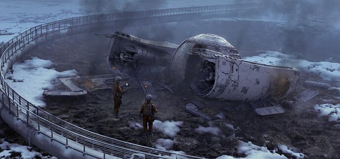 theWreckageOfShip