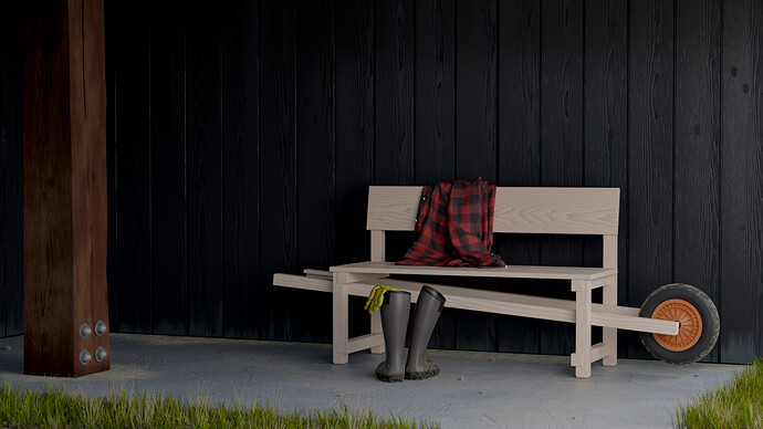 The Wheelbench created by Rogier MARTENS