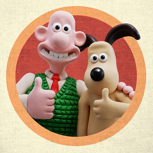 Wallace And Gromit (Fan Art Sculpt)