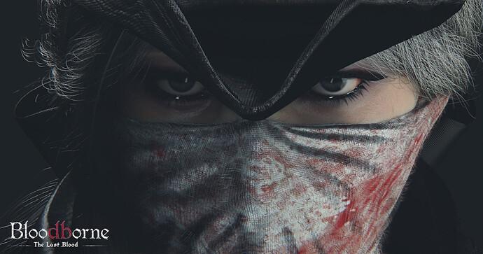 bloodborne lady closeup