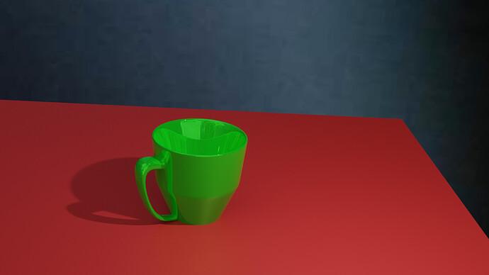 Mug Model 1 rendered