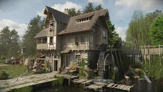Watermill yellow