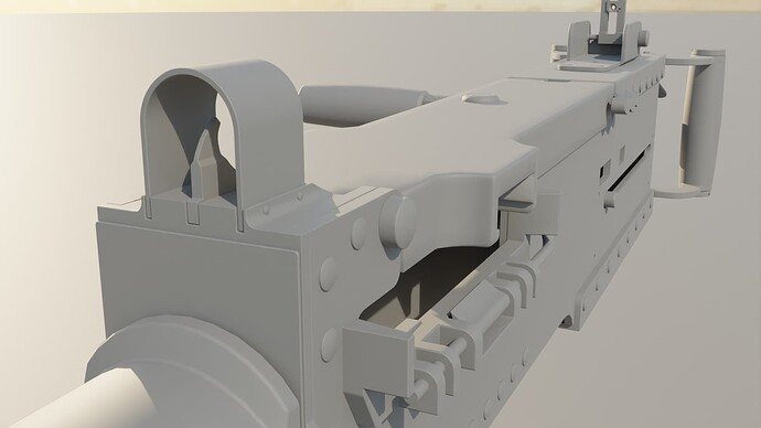 front sight 1 - clay