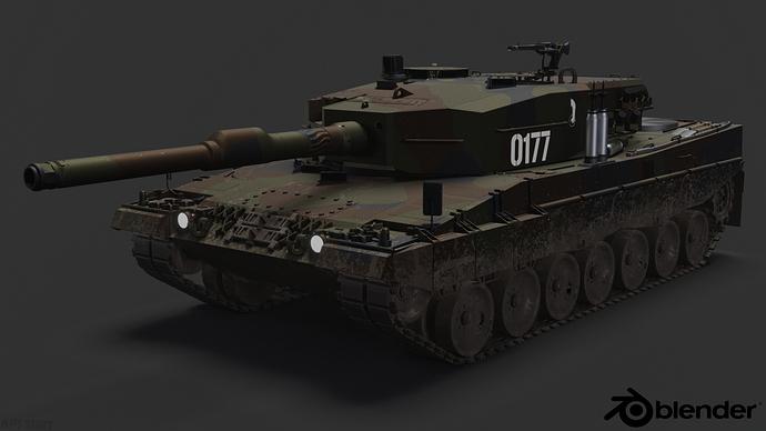 Leopard2A4-PolishArmedForces-frontvw