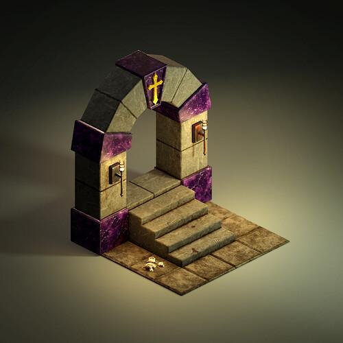 Castle Ravenloft - Starting Tile 01