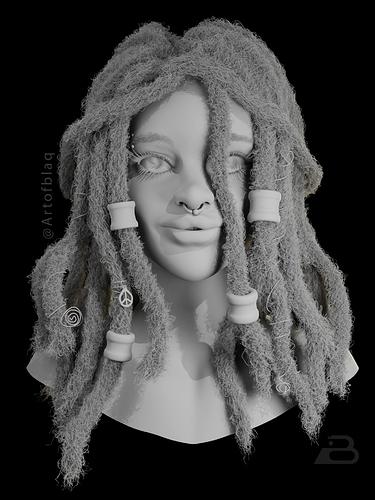 Dreads_Girl_tattoo_AO_Asiedu-Michael1