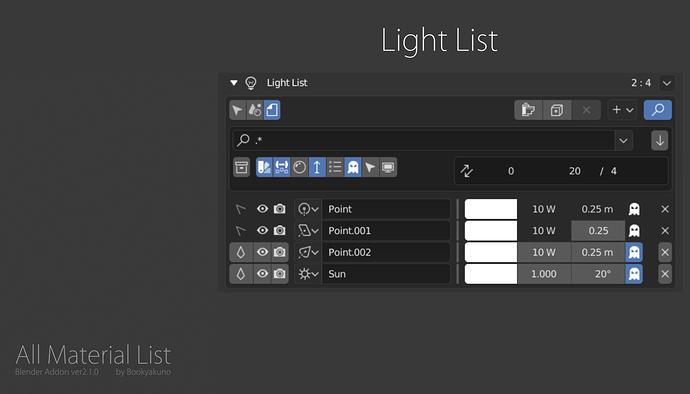 All Material List_ver2-1-0_light