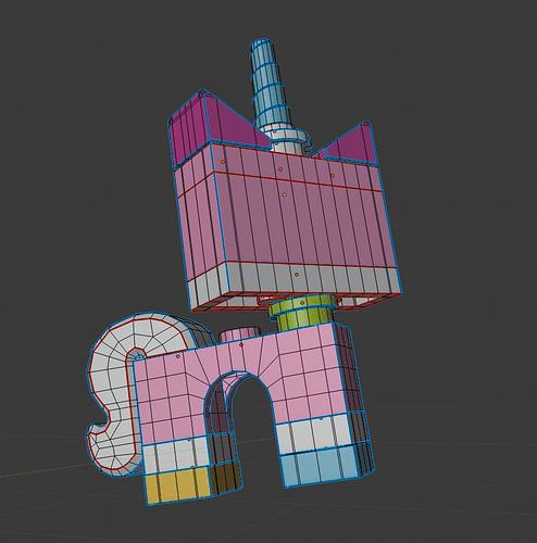 Edit mode Wireframe