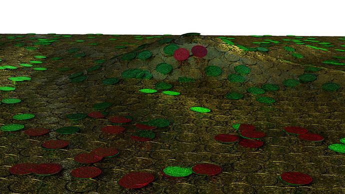 seamless_texture_scene_particles_geomatry_redandgreen