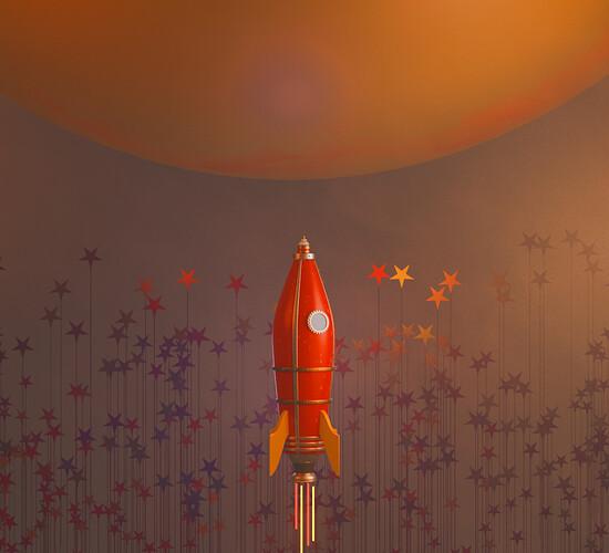 RocketShipOnMyyWayToMars