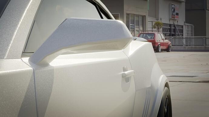 Camaro Z28 Mirror Door Handle