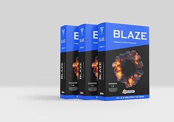 Blaze New Poster