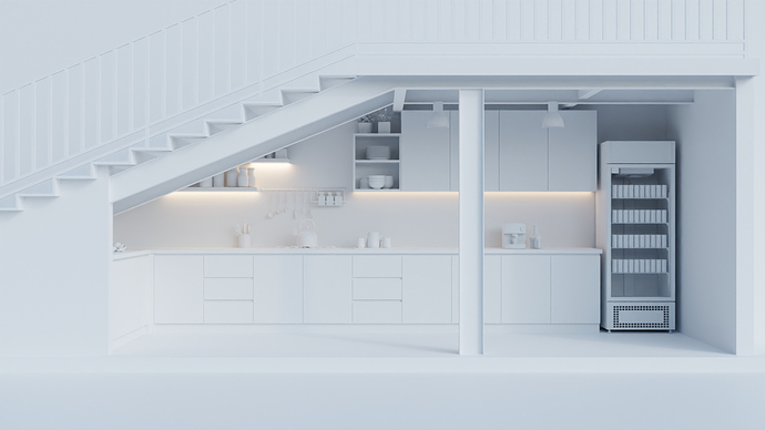 Dapur Kotor_White