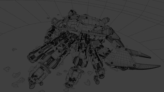 Wireframe render
