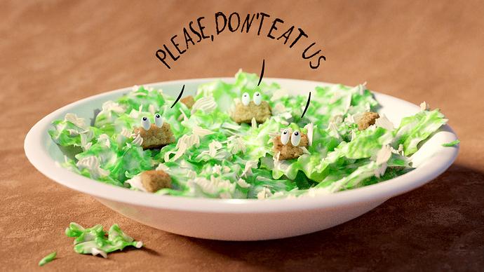 Helge: Caesar Salad
