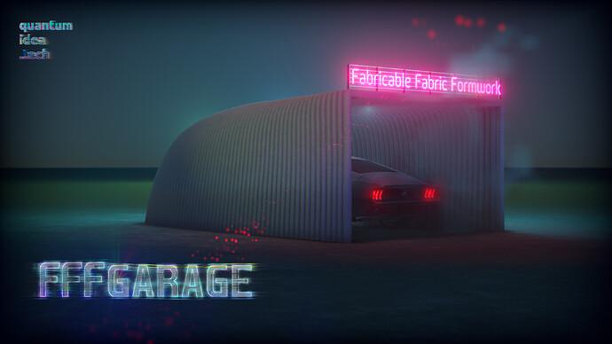 FFF GARAGE + logo