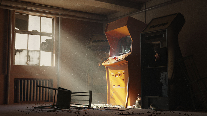 Dangry: Old Arcade Maschines