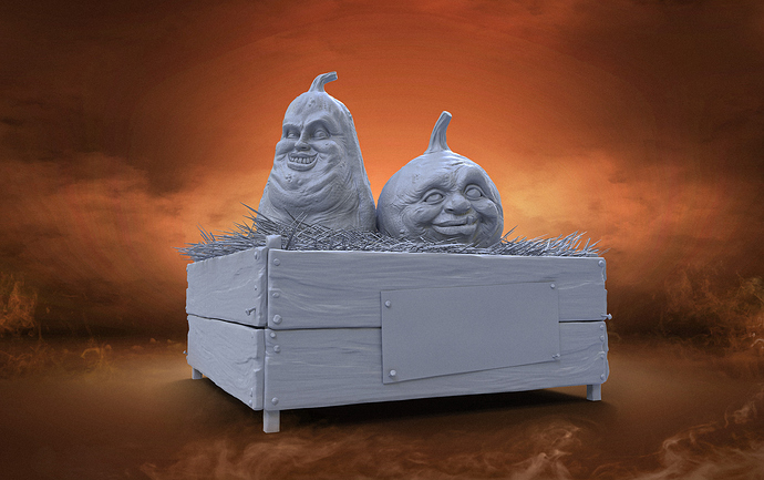 Pumpkin clay