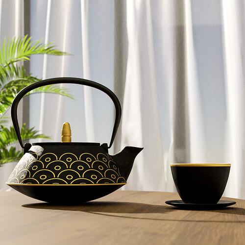LODGE CUBE - salon modern detail 01 - tea-pot