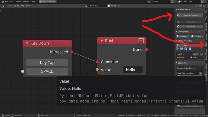 UPBGE 0.3 Apply Logic Nodes_LI
