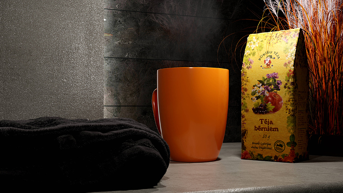 BlendFab Photorealism Contrasted Tea